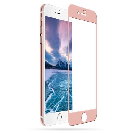 TEMPERED GLASS 5D für iPhone 7/8 Plus rose-gold